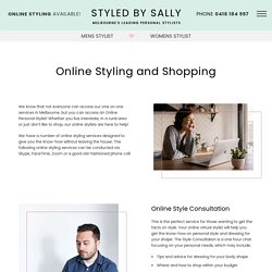 Online Styling and Shopping