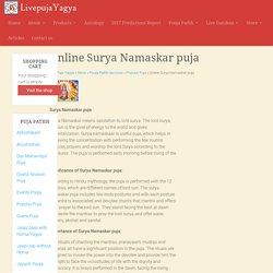 Online Surya Namaskar puja