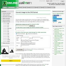Online SVG image converter