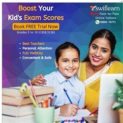 Online Math Tutor - Score Better in Maths with Swiflearn Online Tuition
