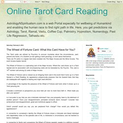 Know The Wheel of Fortune by Tarot Card Reader in Reading Courses