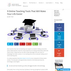 9 Online Teaching Tools That Will Make Your Life Easier
