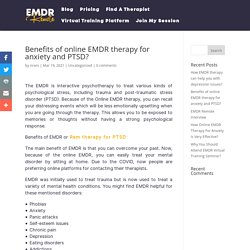 Online emdr therapy for anxiety