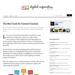 The Best Online Tools for Content Curation