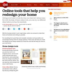Online tools that help you redesign your home | Webware - CNET