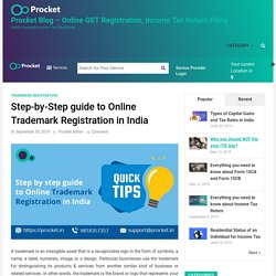 Step by step guide to Online Trademark Registration in India