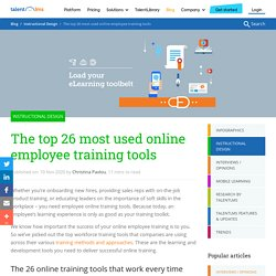 The Top 26 Online Training Tools for Employees - 2020 Update