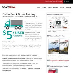 Online Truck Driver Training