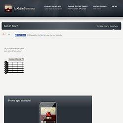 Online tuner | Pro Guitar Tuner