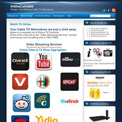 Online TV Channels