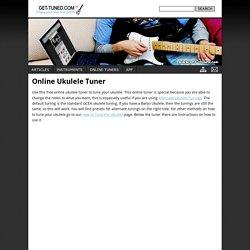 Online Ukulele Tuner
