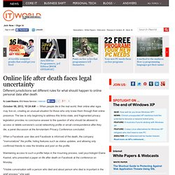 Online life after death faces legal uncertainty