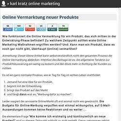 Online Vermarktung