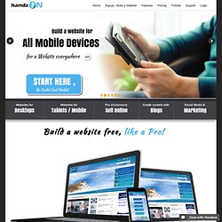 Online website builder, it's how to make a website