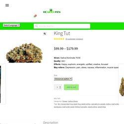 Buy King Tut Weed Online - Wholesale Mail Order Bud - Bcweedpen.com