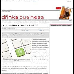 UK online wine market: the facts
