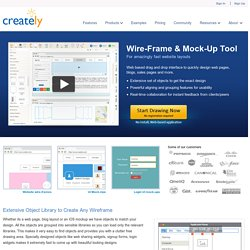 Online Wireframes and Mockups