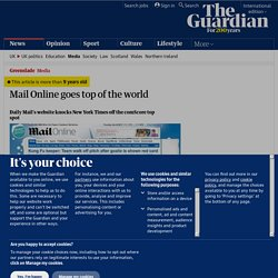 Mail online goes top of the world | Media