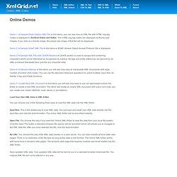 Online XML Editor - xmlGrid.net