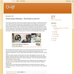 O-lijf: Online Zusss Webshop – One Place to Look For
