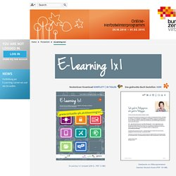 Onlinecampus Virtuelle PH: eLearning 1x1