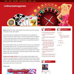 Easiest online casino games to win for the newbie's