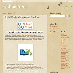 OnlineFront: Social Media Management Services