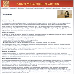 Onlinekurs - kontemplation-in-aktion.de