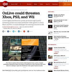 OnLive could threaten Xbox, PS3, and Wii | Gaming and Culture