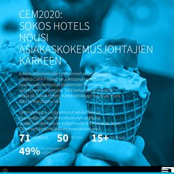 CEM2020: Sokos Hotels nousi asiakaskokemusjohtajien kärkeen