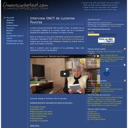 Interview ONCT de Lucienne Foucras