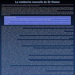 La médecine nouvelle du Dr Hamer