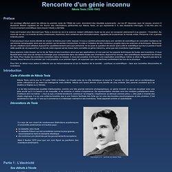Rencontre d'un génie inconnu, Nikola Tesla