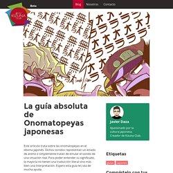 La guía absoluta de Onomatopeyas japonesas