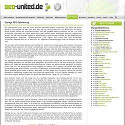 Onpage Optimierung - Definition & Maßnahmen