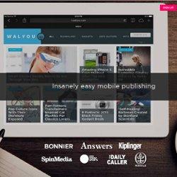 Insanely Easy Mobile Publishing