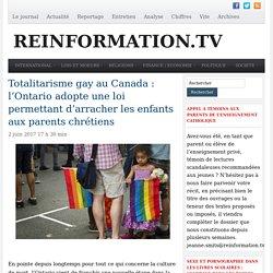 Canada, Ontario: loi qui permet d'arracher les enfants aux parents