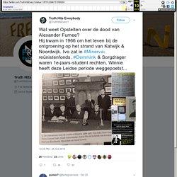 """Truth Hits Everybody on Twitter: """"Wat weet Opstelten over de dood van Alexander Furnee? Hij kwam in 1966 om het leven bij de ontgroening op het strand van Katwijk & Noordwijk. Ivo zat in #Minerva-reünistenfonds. #Demmink & Sorgdrager waren 1e-jaars-studen"""