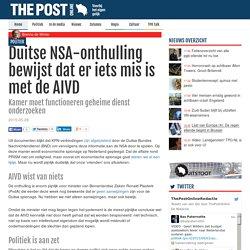 Duitse NSA-onthulling bewijst dat er iets mis is met de AIVD