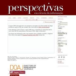 Perspectivas em Ciência da Informação