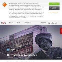 NOS - Nieuwsuur - Onvrede op universiteiten NL