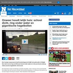 Onweer houdt lelijk huis: school dicht, ring onder water en