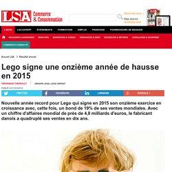 Lego signe une onzième année de hausse en 2015 - Loisirs, culture