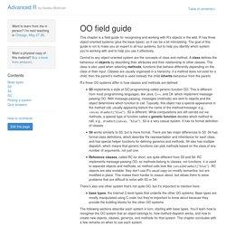 OO field guide · Advanced R.