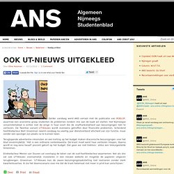 Ook UT-Nieuws uitgekleed