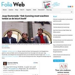 Jaap Oosterwijk: 'Ook Gunning moet wachten totdat ze de beurt heeft'
