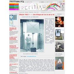 OPALKA 1965/1 - ∞ : Une éthique de l'art et de la vie - revue art contemporain - revue art contemporain