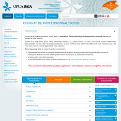 OPCABAIA - DISPOSITIFS DE FORMATION