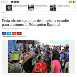 Feria ofrece opciones de empleo y estudio para alumnos de Educación Especial