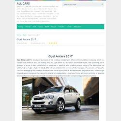 Opel Antara 2017